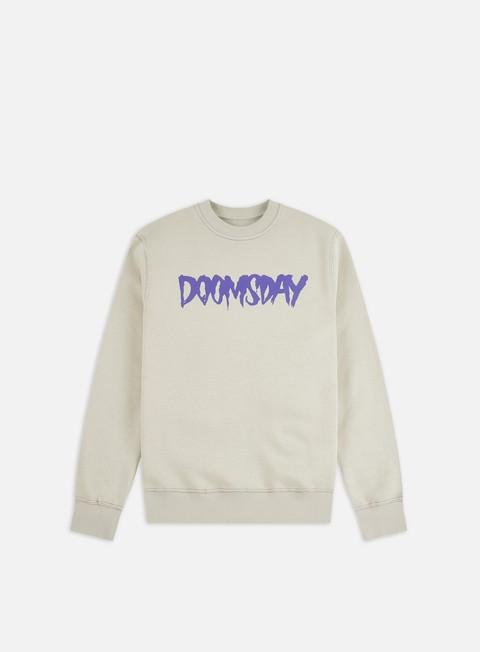 Outlet e Saldi Felpe Girocollo Doomsday Logo Crewneck