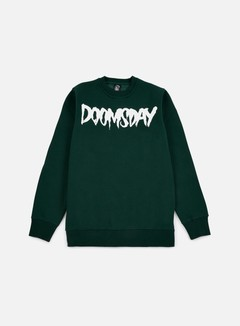 Doomsday - Logo Crewneck, Green Forest