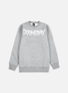 Doomsday - Logo Crewneck, Grey