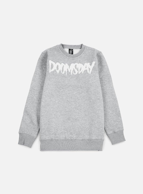 Doomsday - Logo Crewneck, Grey