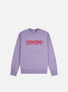 Doomsday - Logo Crewneck, Lilac/Fuchsia