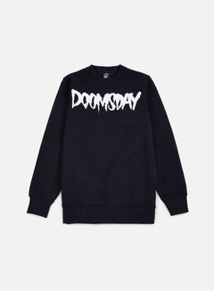 Doomsday - Logo Crewneck, Navy 1