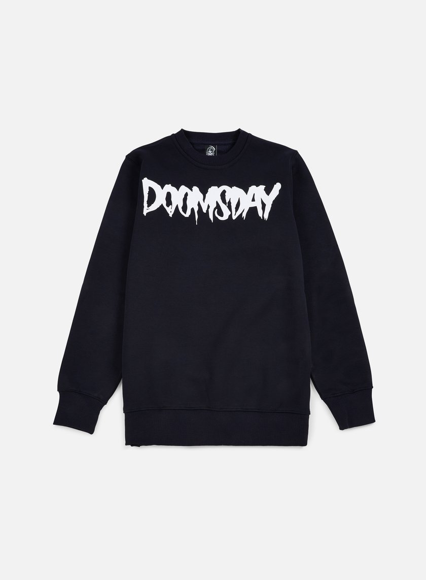 Doomsday - Logo Crewneck, Navy