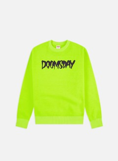 Doomsday - Logo Crewneck, Neon/Wine