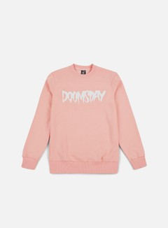 Doomsday - Logo Crewneck, Soft Pink