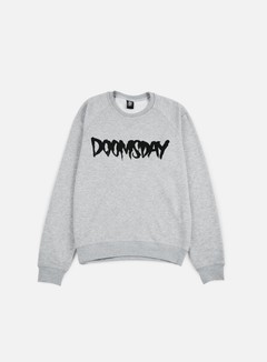 Doomsday - Logo Crewneck, Sport Grey/Black