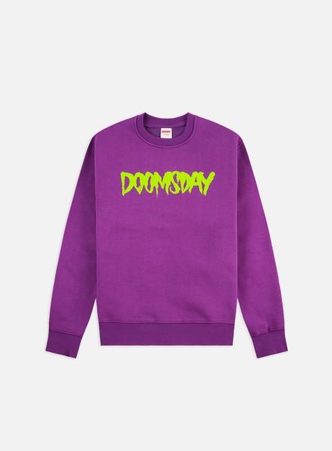 Felpe Girocollo Doomsday Logo Crewneck