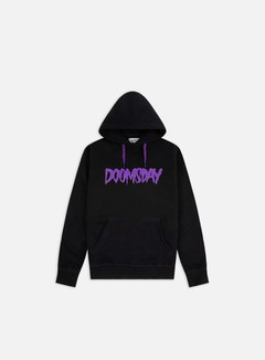 Doomsday - Logo Hoodie, Black/Purple