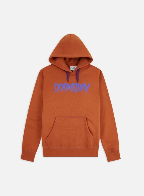 Felpe con Cappuccio Doomsday Logo Hoodie
