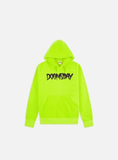 Doomsday - Logo Hoodie, Neon/Wine