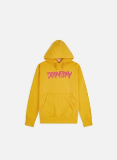 Doomsday - Logo Hoodie, Yellow/Fuchsia
