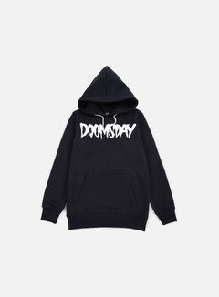 Doomsday - Logo Hoody, Navy/White