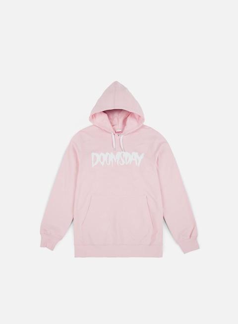 felpe doomsday logo hoody soft pink