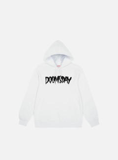 Doomsday - Logo Hoody, White