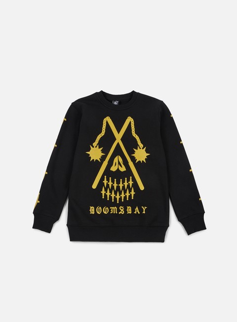 felpe doomsday maces crewneck black
