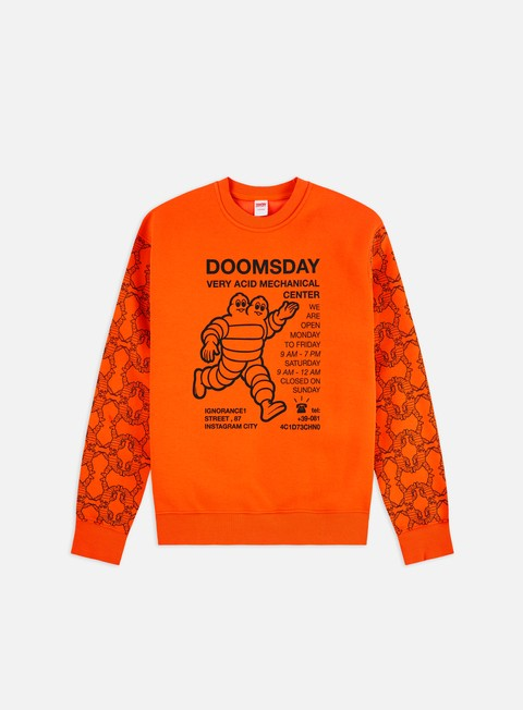 Felpe Girocollo Doomsday Mechanical Center Crewneck