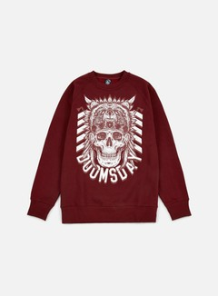 Doomsday - Native Crewneck, Burgundy