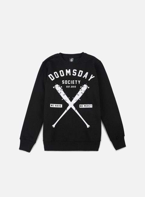 felpe doomsday no mercy crewneck black