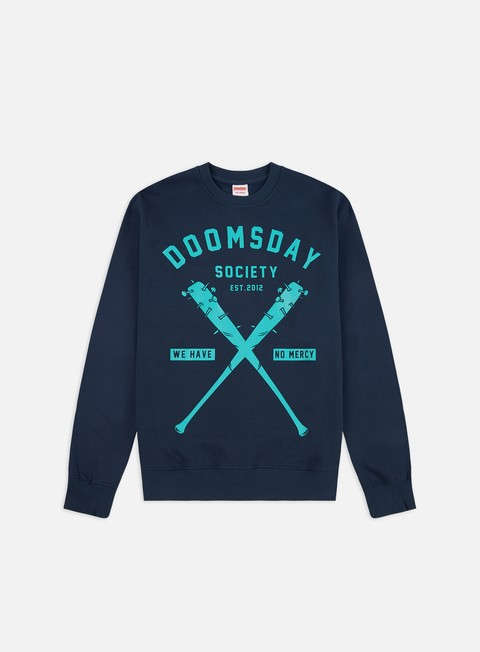 Outlet e Saldi Felpe Girocollo Doomsday No Mercy Crewneck