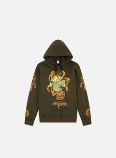Doomsday - Omen Hoodie, Army Green