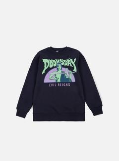 Doomsday - Power Sword Crewneck, Navy