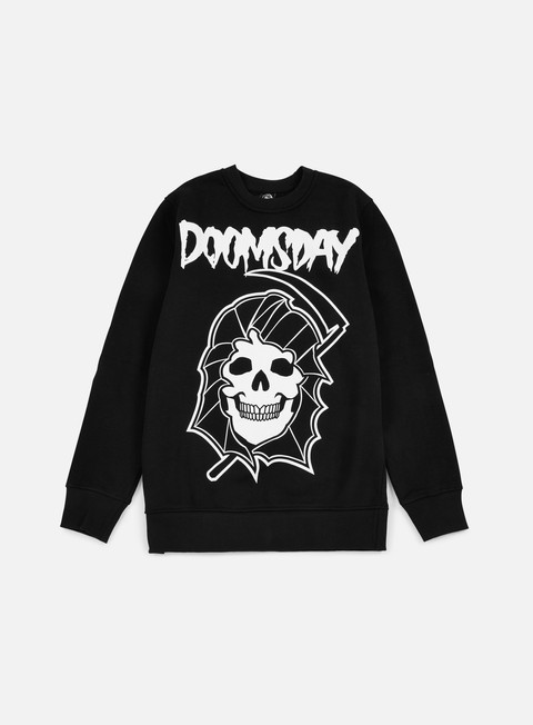 felpe doomsday reaper crewneck black