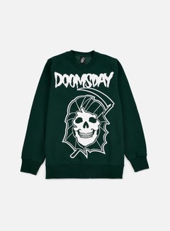 Doomsday - Reaper Crewneck, Green Forest