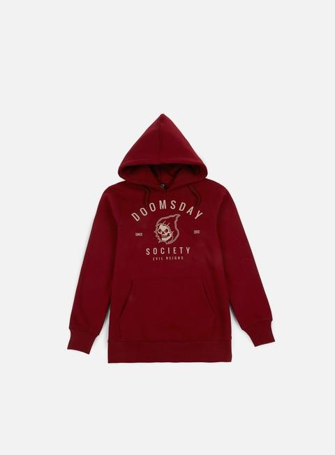 Hooded Sweatshirts Doomsday Reaper Lazer Hoodie
