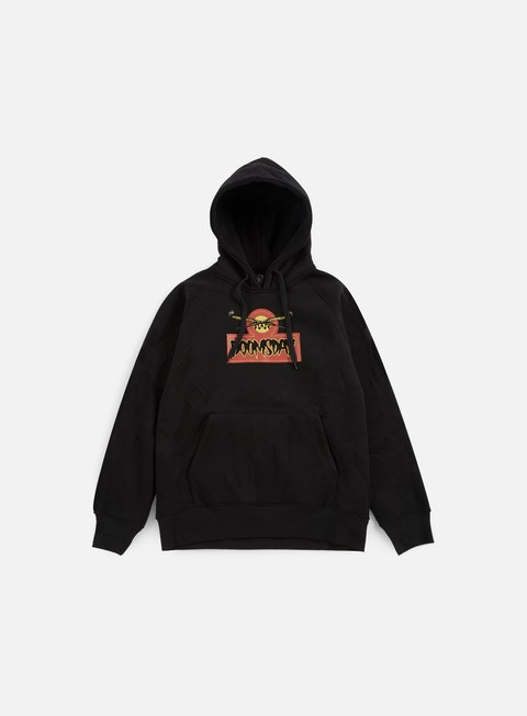 felpe doomsday sioux hoody black