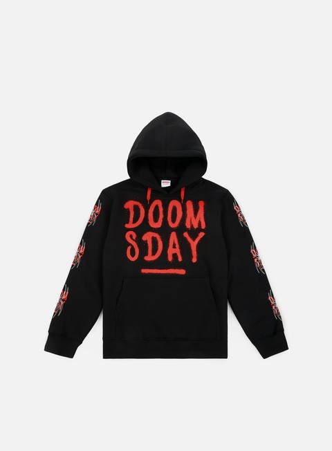 felpe doomsday spider hoody black