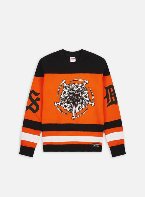 Crewneck Sweatshirts Doomsday Star Hockey Crewneck