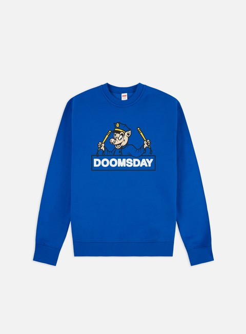 Outlet e Saldi Felpe Girocollo Doomsday Strike Crewneck