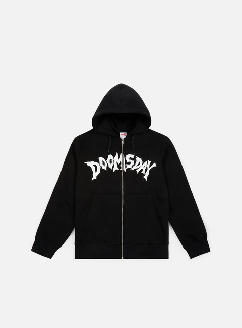 felpe doomsday swordhammer zip hoody black