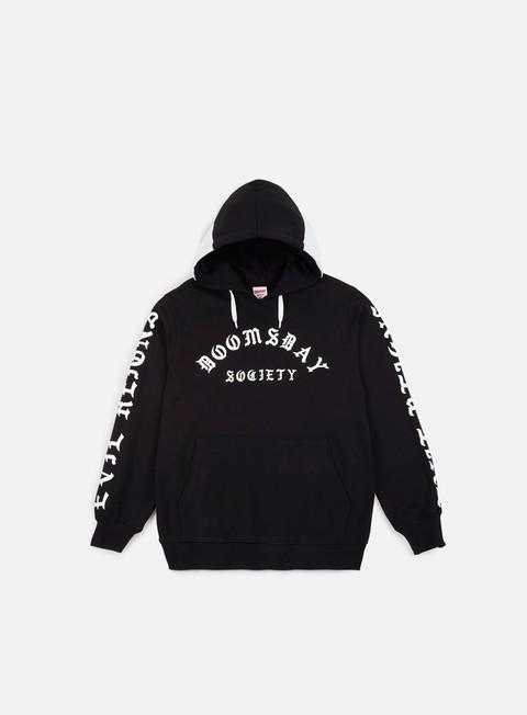 felpe doomsday times hoodie black