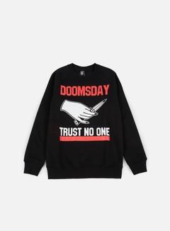 Doomsday - Trust No One Crewneck, Black 1