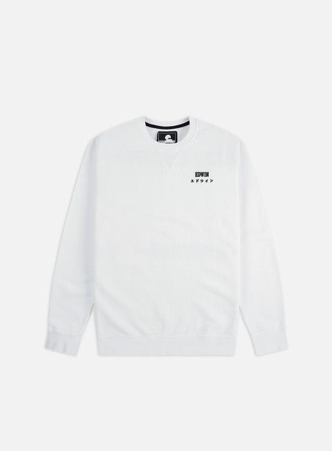 Felpe Basic Edwin Base Crewneck