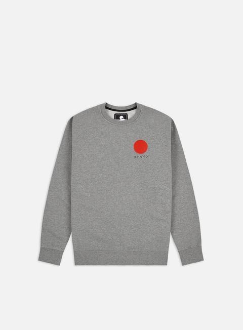 Crewneck Sweatshirts Edwin Japanise Sun Crewneck