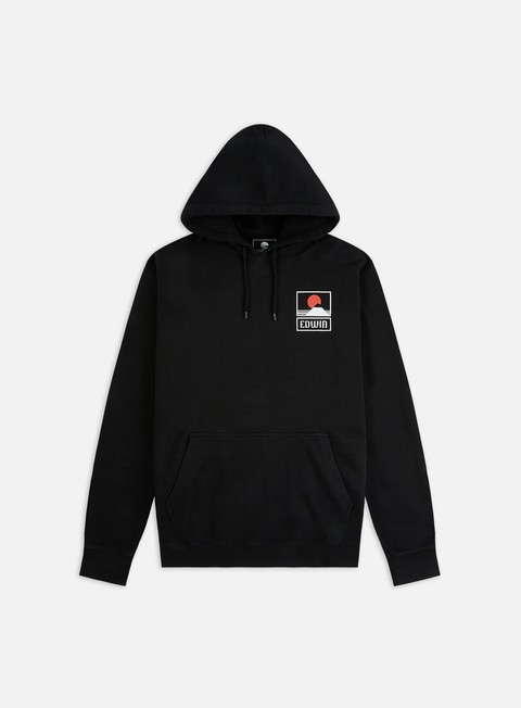 Edwin Sunset On Mt. Fuji Hoodie