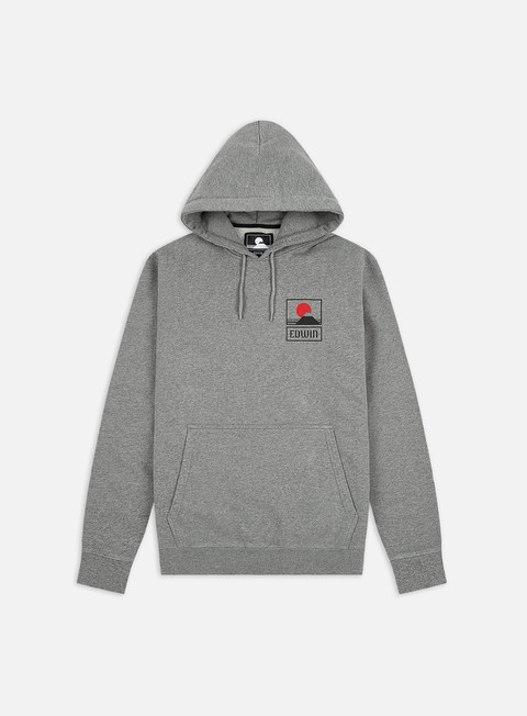 Felpe con Cappuccio Edwin Sunset On Mt. Fuji Hoodie