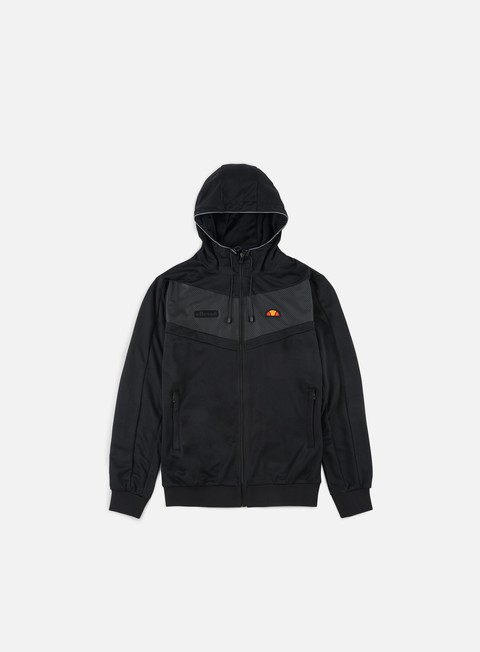 felpe ellesse addio full zip hoody anthracite