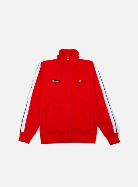 felpe ellesse cervino track top true red