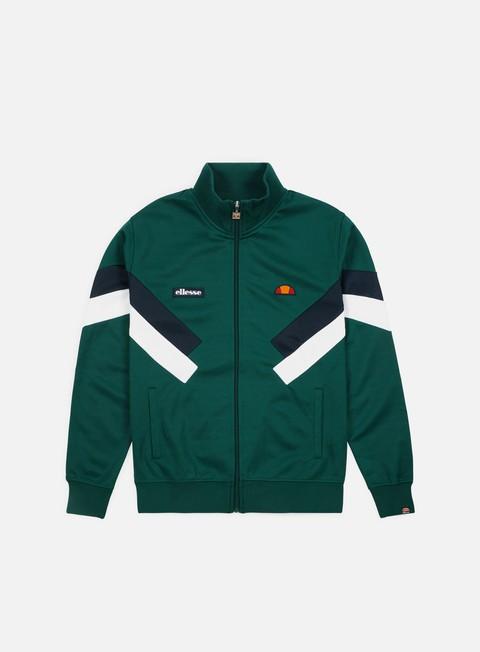 felpe ellesse cheroni jacket dark green