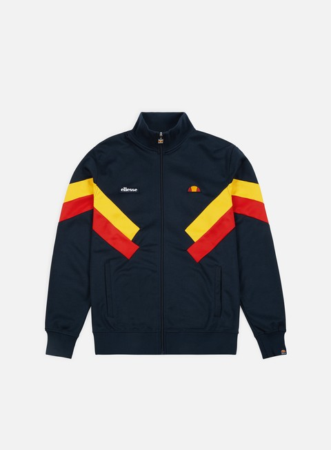 felpe ellesse cheroni jacket dress blues