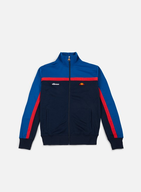 felpe ellesse fonda track top classic blue dress blues