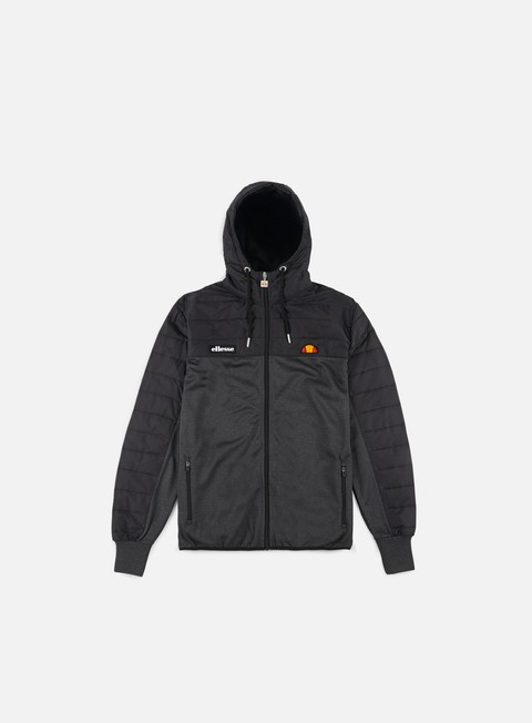 felpe ellesse kalgaris full zip track top anthracite