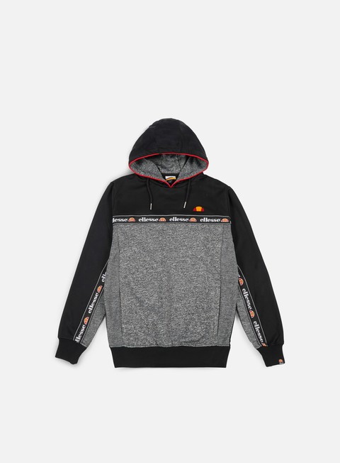 felpe ellesse ottey hoody anthracite heather charcoal marl