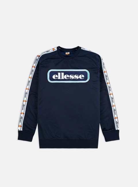 Ellesse Poppa Taped Popper Crewneck