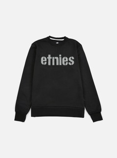 Etnies - E-Lock Crewneck, Black/Grey 1