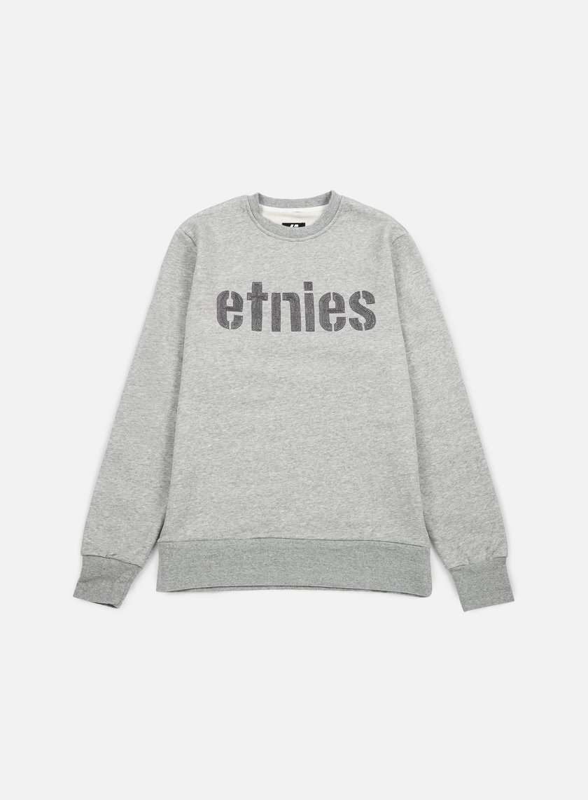 Etnies - E-Lock Crewneck, Dark Grey