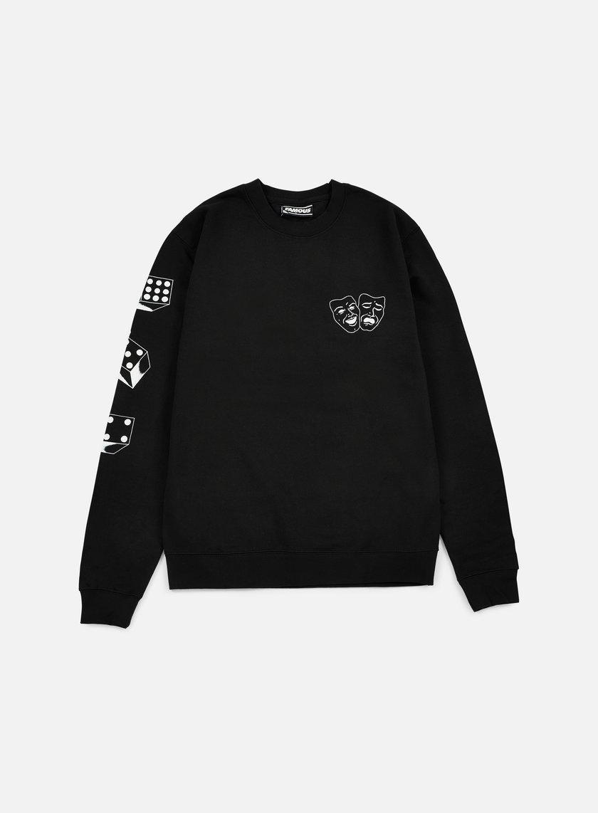 Famous - Rose Arch Crewneck, Black